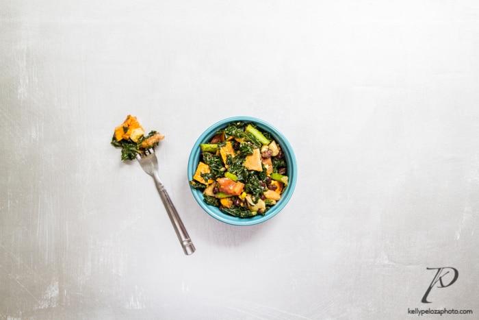 carnitas-jackfruit-kale-salad