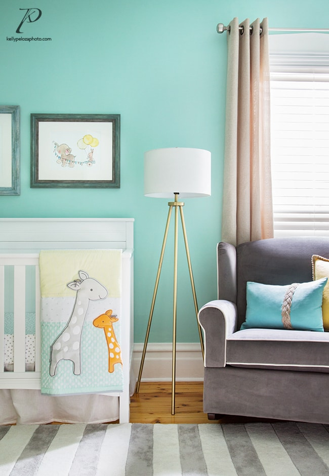 Nursery interior design by Chanath W Interiors | Interior photography by Kelly Peloza Photo