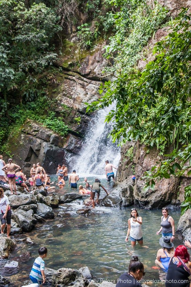 La Mina Falls, El Yunque National Forest, Puerto Rico | Kelly Peloza Photo