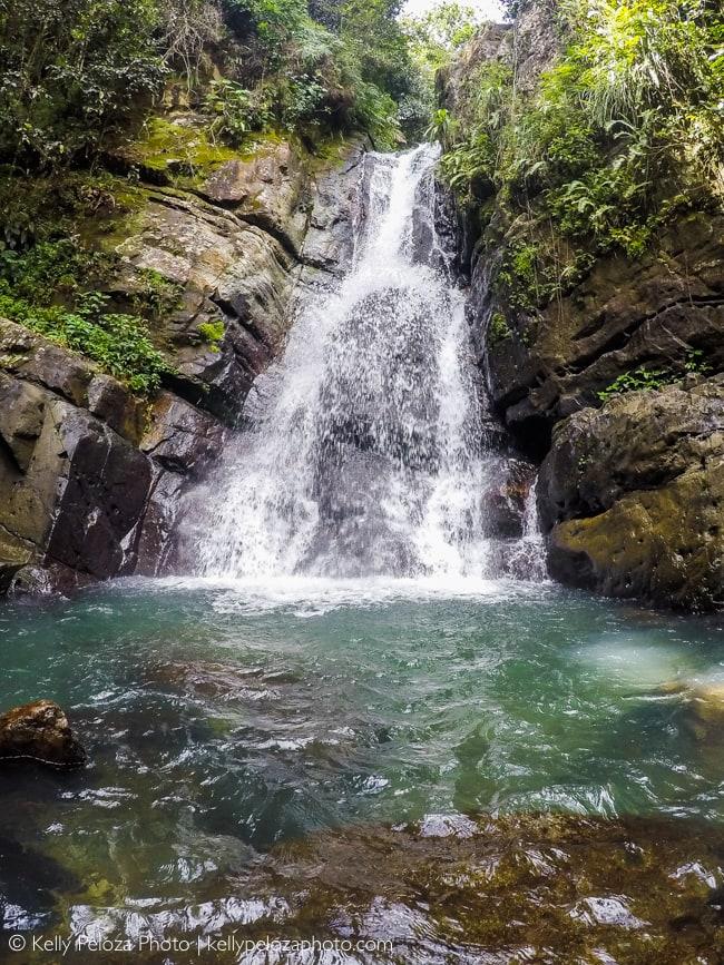 La Mina Falls in El Yunque National Forest, Puerto Rico | Kelly Peloza Photo